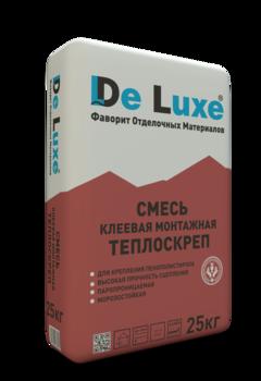 Монтажный клей  De Luxe ТЕПЛОСКРЕП, 25кг