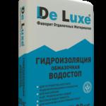 Гидроизоляция обмазочная De Luxe ВОДОСТОП, 20 кг