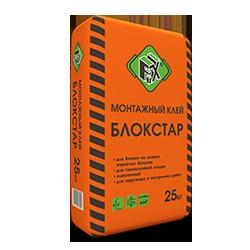 Клей монтажный БЛОКСТАР, 25кг