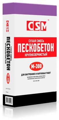 Пескобетон М-300 ЦСМ, 50кг